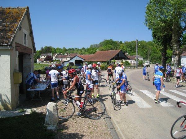 "Samedi 5 mai - Sortie ""Les Festins de Bourgogne - 102 km"