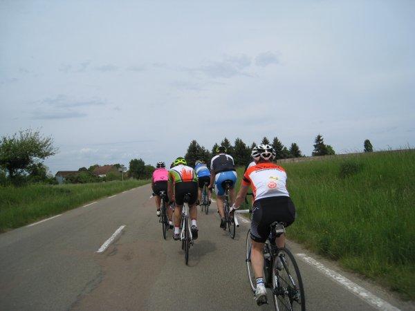 "Samedi 12 mai - Sortie Ufolep ""La Coralienne"" - 106 km"