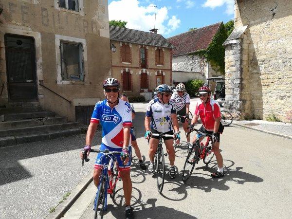 Mercredi 6 juin - Sortie Club - 74 km