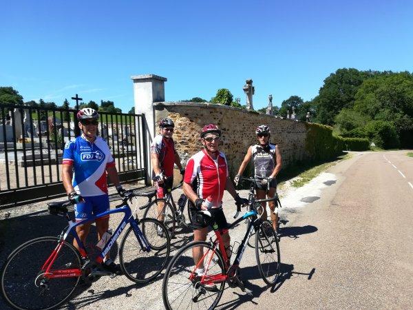 Mercredi 20 juin - Sortie Club - 70 km