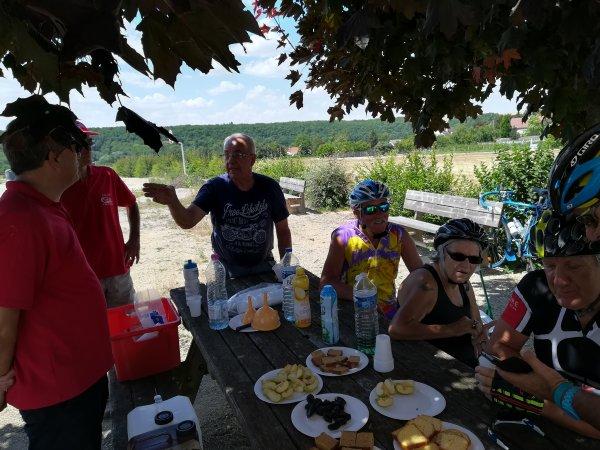 Samedi 30 juin - Sortie Ufolep Vélo-Club-Coulangeois - 116 km