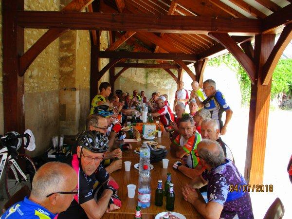 Mercredi 4 juillet - Challenge des Anciens UCGA Gurgy-Appoigny - 73 km