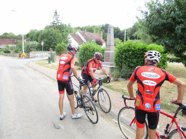 Samedi 28 juillet - Sortie Ufolep AS Tonnerre Cyclo