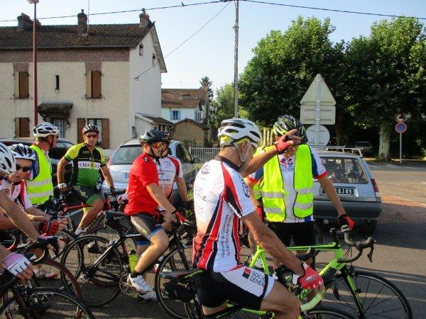 Samedi 4 août - ASUC Migennes: Challenge de anciens - 91 km
