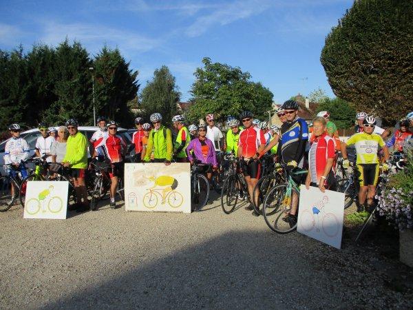 Samedi 11 août - Sougères - Sougères !  148 km de vélo !