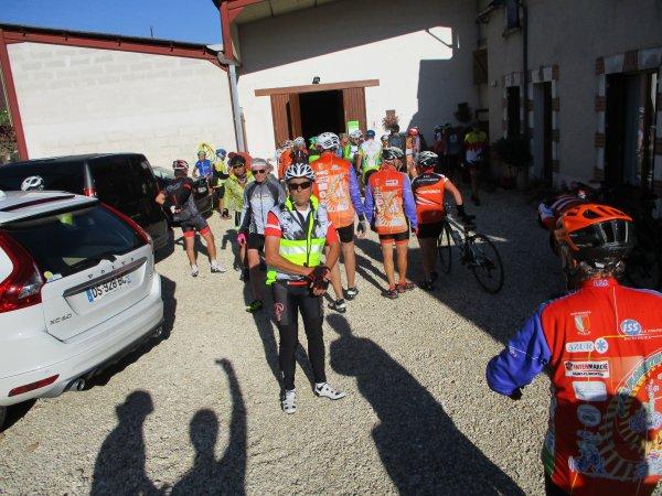 Dimanche 26 août - 27ème Rallye du Miel - 118 km de vélo