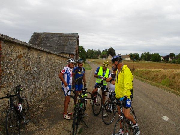 "Mercredi 29 août - La Gurgycoise - Sortie des ""anciens"" -  66 km"