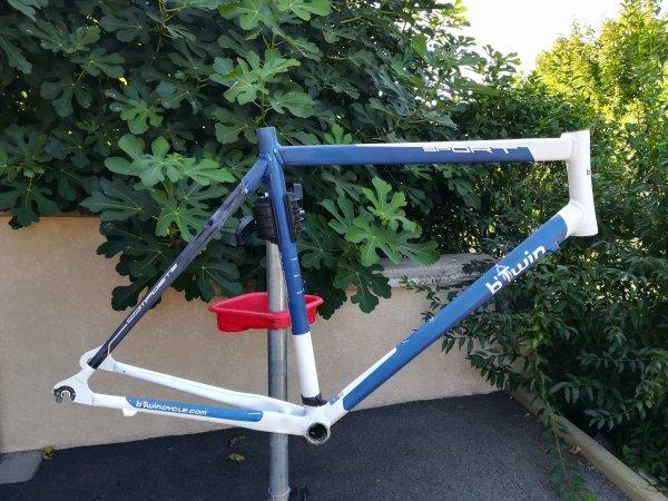 Préparation de mon vélo de randonnée !