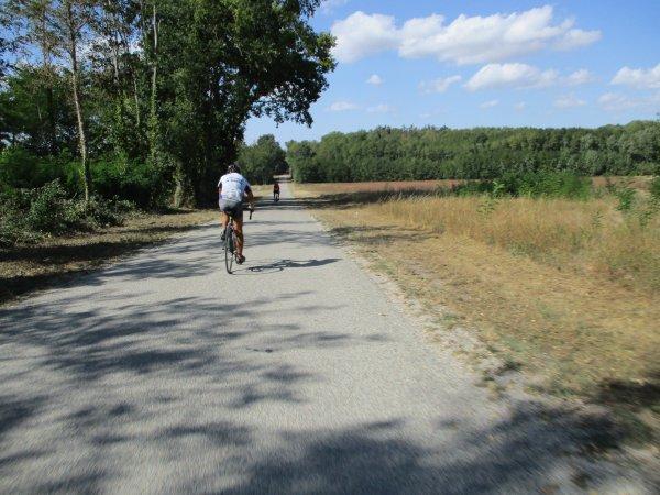 Mercredi 19 septembre - Sortie club - 73 km de vélo !