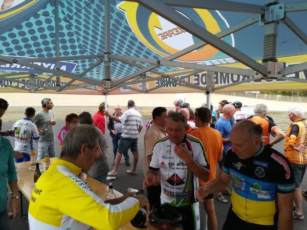 Samedi 22 septembre - Fête du Vélo au vélodrome d'Auxerre - 88 km