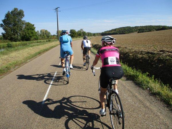 Samedi 6 octobre - Sortie Ufolep à Charentenay - 145 km !