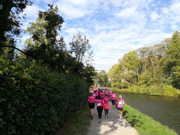 Dimanche 14 octobre - Les Foulées roses de l'Yonne - 6 km de course à pied !