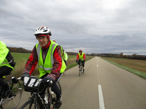 Samedi 24 novembre - Sortie club - 63 km de vélo !