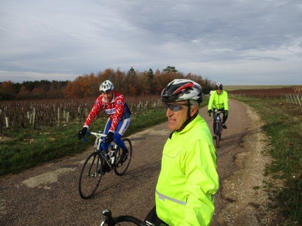 Mercredi 5 décembre - Sortie club - 71 km de vélo !
