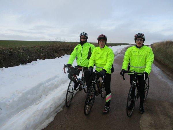 Mercredi 6 février - Sortie club - 74 km de vélo !