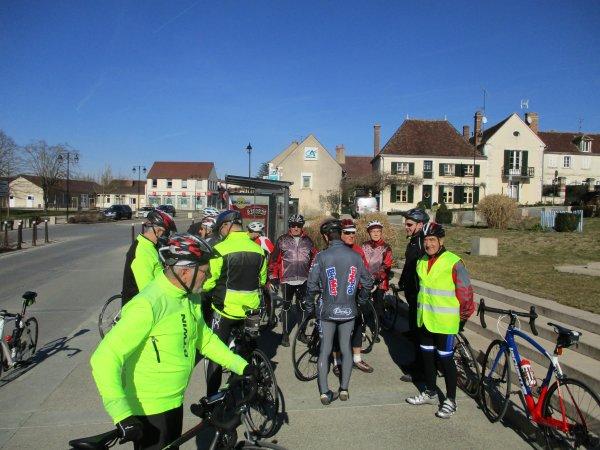 Samedi 16 février - Sortie club - 86 km de vélo !