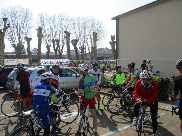 """Samedi 23 mars - Sortie Ufolep """" Prix de la ville de Migennes"""" - 107 km de vélo !"""