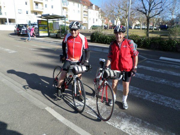 Samedi 30 mars - Sortie FFVélo-Avenir de St-Georges - 86 km de vélo !