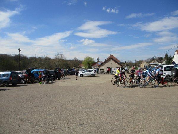 "Samedi 6 avril - Sortie Ufolep ""Stade-Auxerrois"" - 107 km de vélo !"
