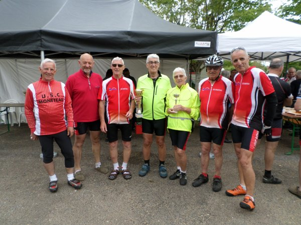 "Samedi 18 mai - Sortie Ufolep ""du Coulangeois""- 107 km de vélo !"