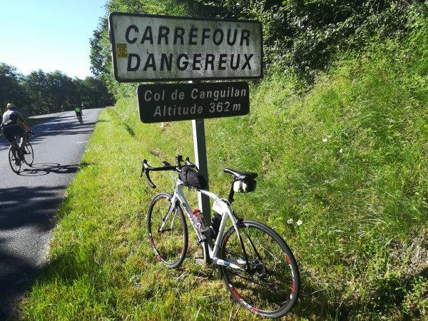 Vendredi 31 mai - Albi-Carcassonne - 128 km de vélo !