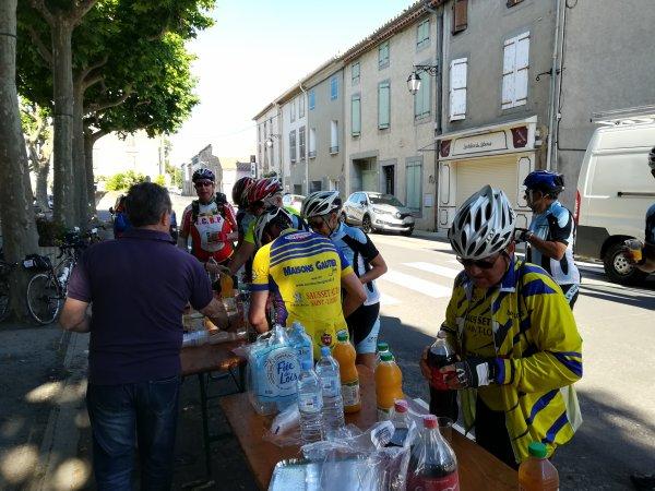 Samedi 1er juin - Carcassonne-Sète - 159 km de vélo !