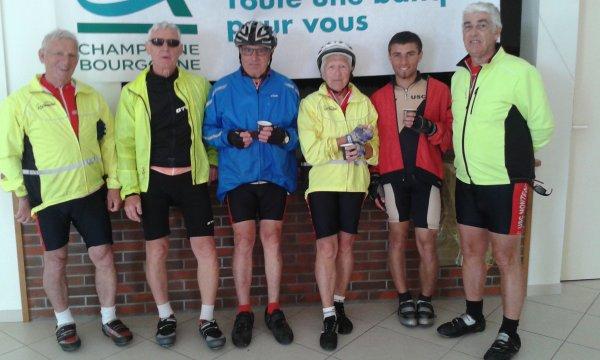 "Samedi 8 juin - ""La Franck Pineau"" - 148 km de vélo !"