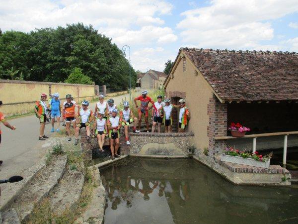 Jeudi 11 juillet - Randonnée des châteaux - 95 km de vélo !