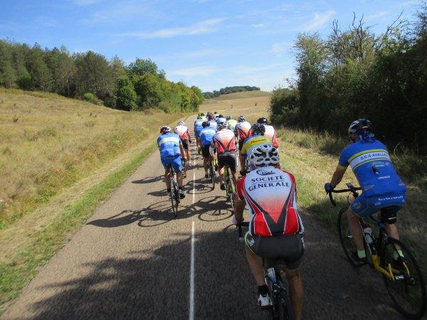 Mercredi 11 septembre - Le challenge des Anciens à Vermenton - 60 km de vélo !