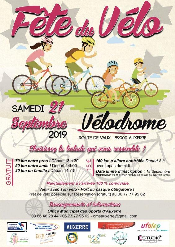 Samedi 21 septembre - La Fête du Vélo à Auxerre !