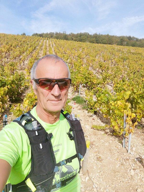 Samedi 26 octobre - Vélo pour certains...Course à pied pour moi !