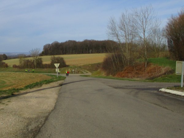 Samedi 15 février - Sortie Club - 66 km de vélo !