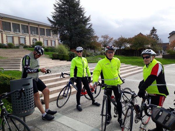 Samedi 24 octobre - Sortie Club - 65 km de vélo !