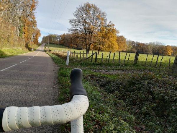 Jeudi 10 décembre - Sortie Solo - 70 km de vélo