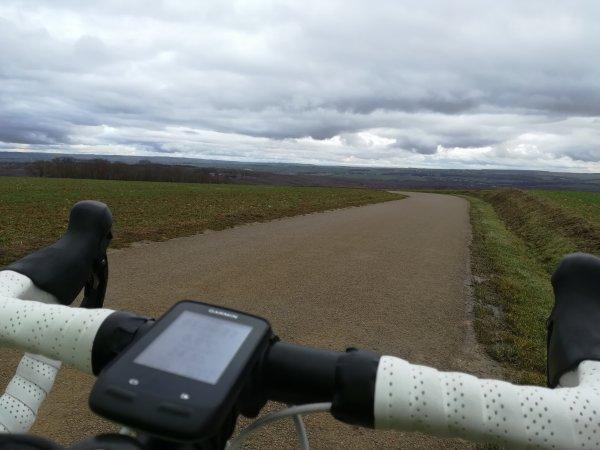 Mardi 15 décembre - Sortie Solo - 62 km de vélo