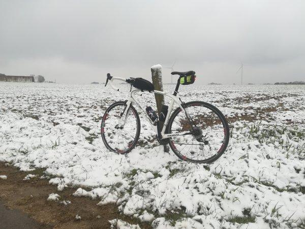 Mardi 5 janvier - Sortie Solo - 60 km de vélo