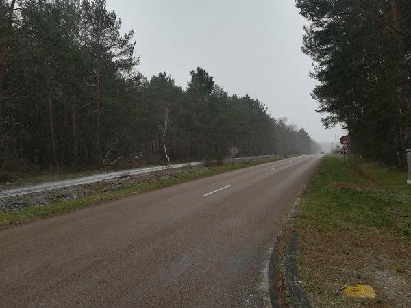 Samedi 16 janvier - Petite sortie solo - 45 km de vélo