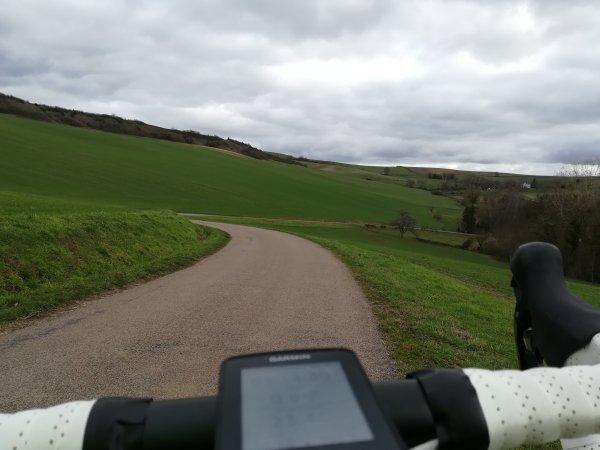 Lundi 18 janvier - Sortie solo - 72 km de vélo