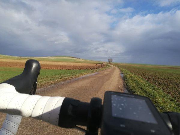 Vendredi 29 janvier - Sortie solo - 68 km de vélo