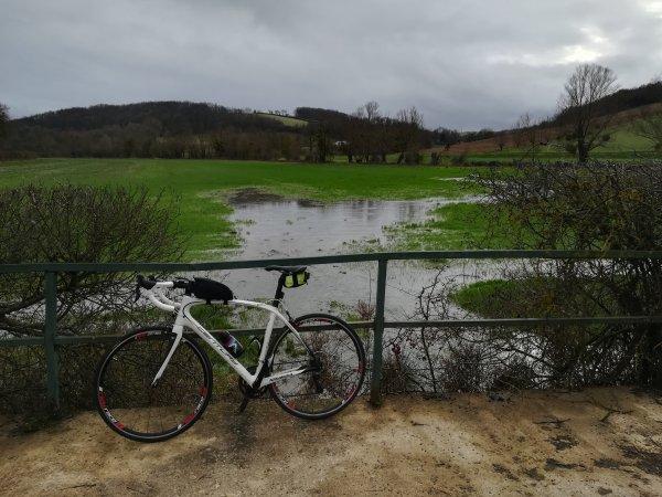 Dimanche 31 janvier - Sortie solo - 91 km de vélo