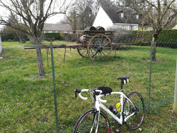 Jeudi 4 février - Sortie solo - 88 km de vélo