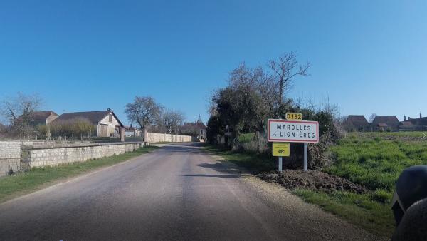 Dimanche 28 février - Sortie solo - 105 km de vélo