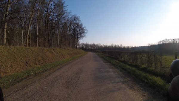 Lundi 8 mars - Sortie solo - 104 km de vélo