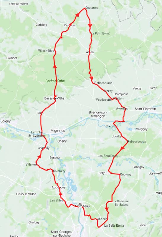 Jeudi 18 mars - Sortie solo - 107 km de vélo