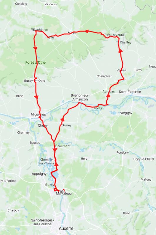 Samedi 20 mars - Sortie Club - 91 km de vélo