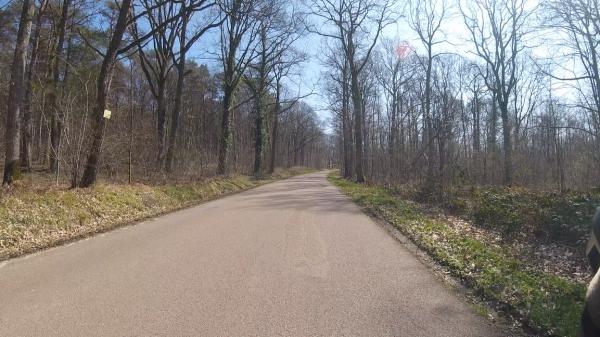Mardi 23 mars - Sortie solo - 106 km de vélo