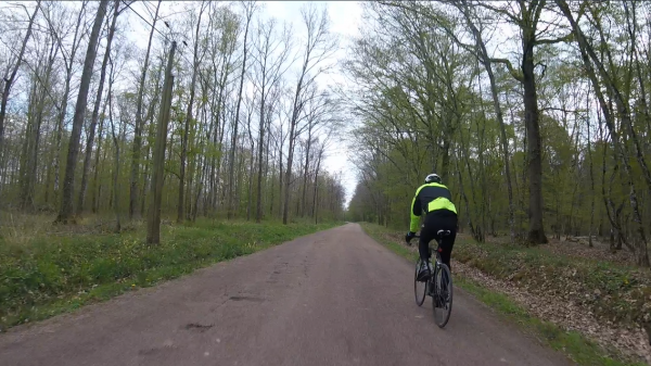 Samedi 17 avril - Sortie club - 71 km de vélo