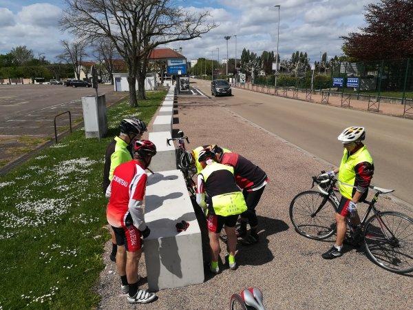 Samedi 8 mai - Sortie club - puis solo - 101 km de vélo