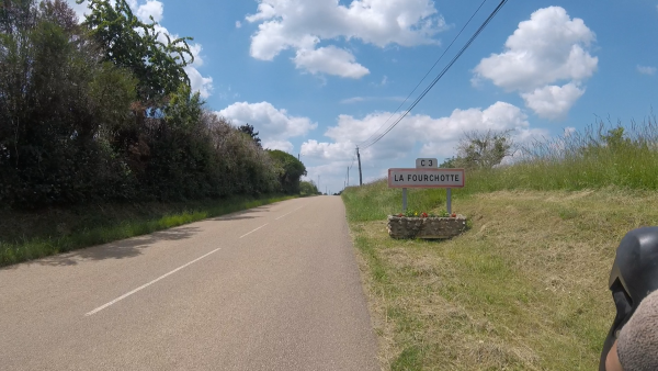 Mardi 8 juin - Sortie solo - 103 km de vélo