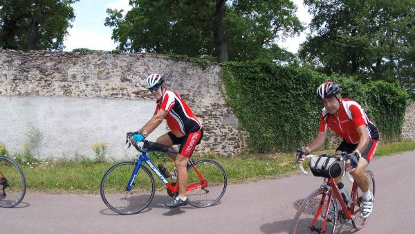 Samedi 26 juin - Sortie club - 73 km de vélo